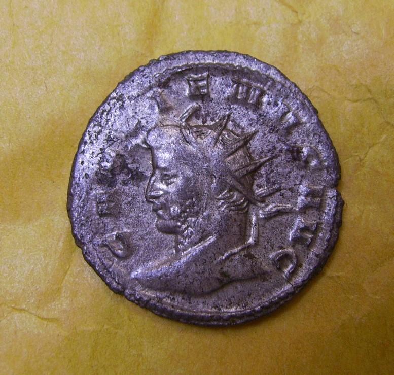 Antoniniano de Galieno. AEQVITAS AVG. Aequitas estante a izq. Ceca Mediolanum. Pict1313
