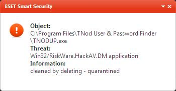 ANTIVIRUS ESET SMART SECURITY FULL X86 110
