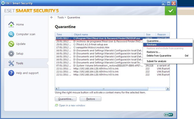 ANTIVIRUS ESET SMART SECURITY FULL X86 710