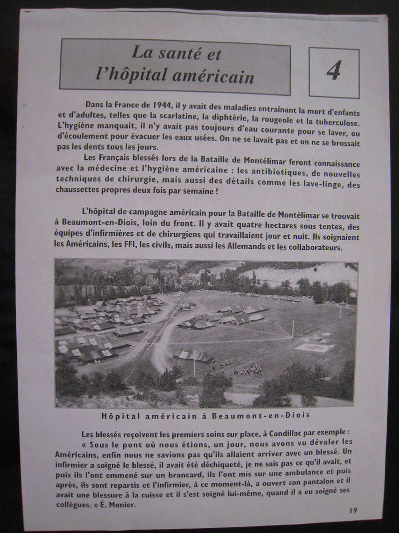 Bataille de Montélimar : l'hôpital de campagne US Img_0426