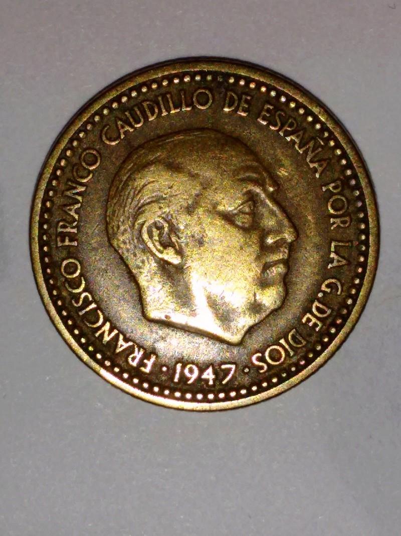 1 peseta de 1947 (*19-51). Estado Español Franco14