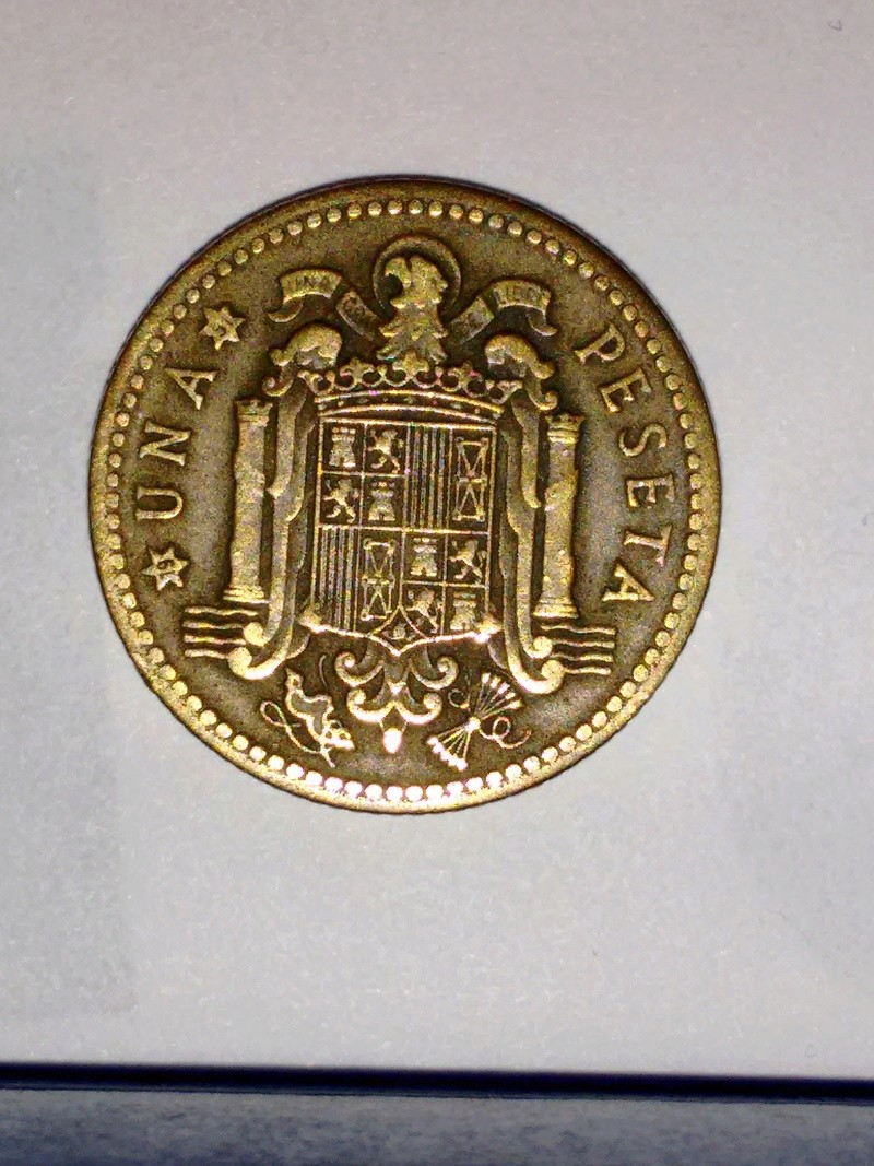1 peseta de 1947 (*19-51). Estado Español Franco15