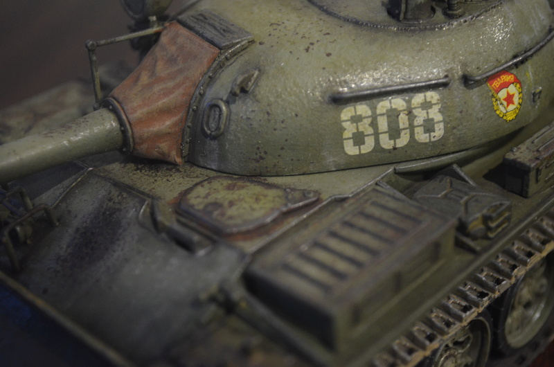 Т-55 trumpeter 1/35 Dsc_0240