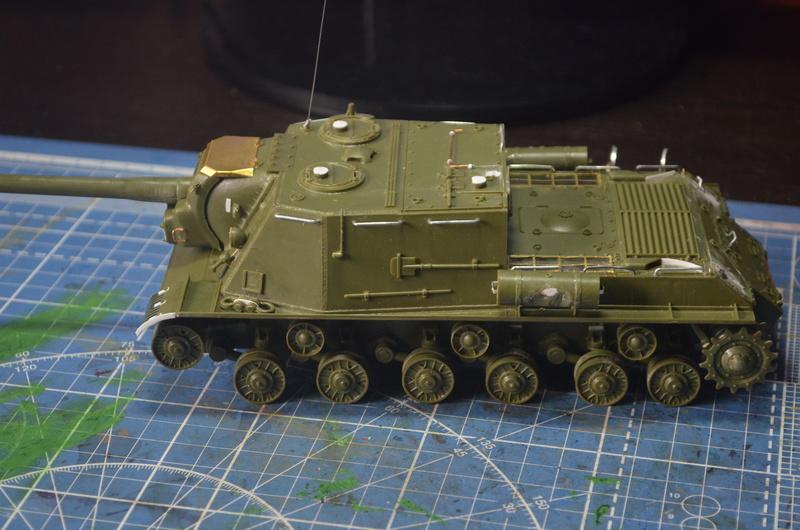 ИСУ-122 Звезда 1/35 Dsc_0250