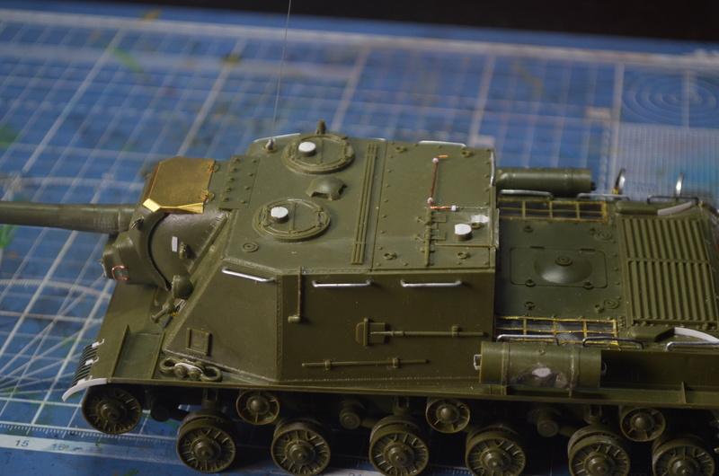 ИСУ-122 Звезда 1/35 Dsc_0251