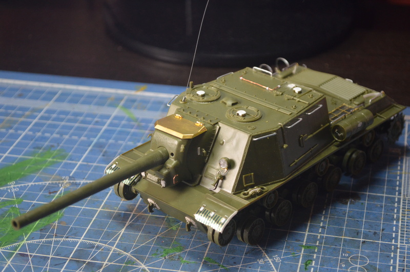 ИСУ-122 Звезда 1/35 Dsc_0252