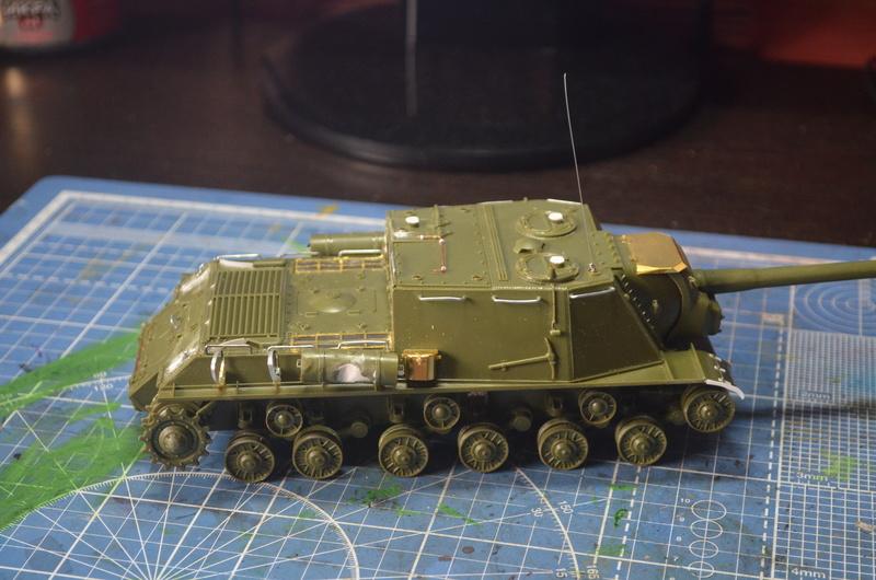 ИСУ-122 Звезда 1/35 Dsc_0253