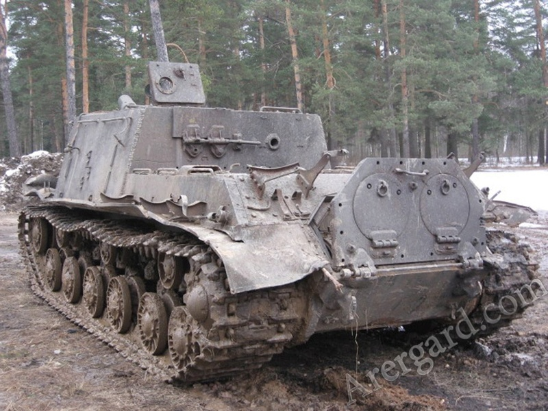 ИСУ-122 Звезда 1/35 Phoca_10
