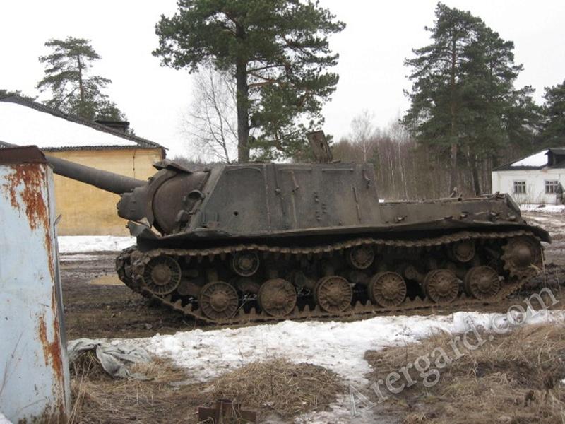 ИСУ-122 Звезда 1/35 Phoca_11