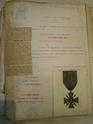 Archives 93e & 123e RI - Officier de la Porte d'Hust -  02510