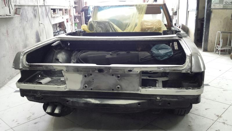 (R107): Restauração de uma 450 SL 1972 20161020