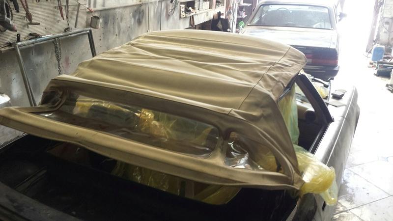 (R107): Restauração de uma 450 SL 1972 20161027