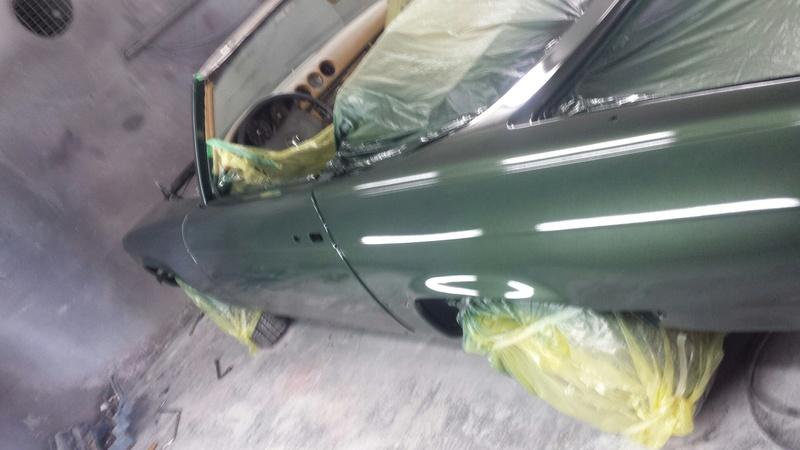 (R107): Restauração de uma 450 SL 1972 20161124
