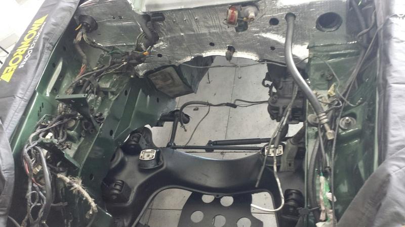(R107): Restauração de uma 450 SL 1972 20161213