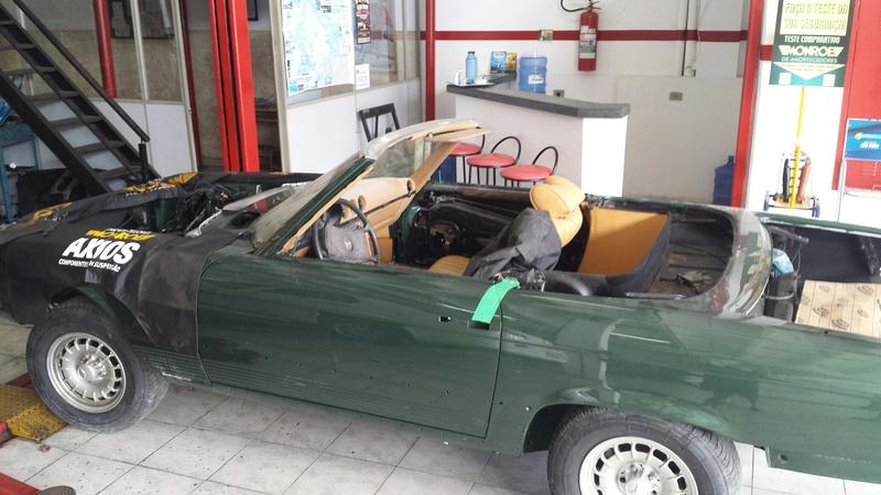 (R107): Restauração de uma 450 SL 1972 20161215