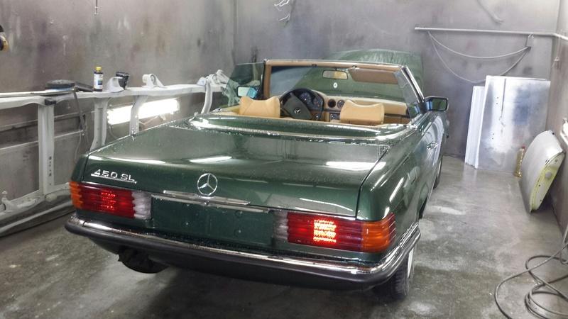 (R107): Restauração de uma 450 SL 1972 20170311