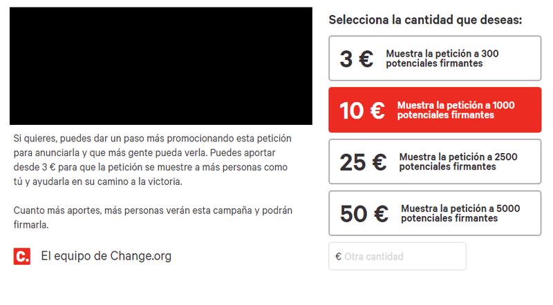 Change.org, UNA ESTAFA. Change10