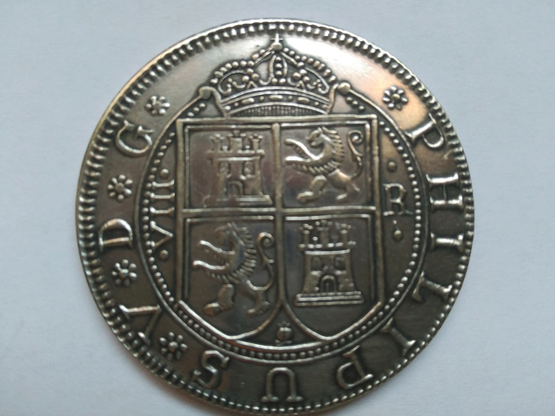 Moneda de 8 reales Felipe V ceca Santa Fe Img_2013