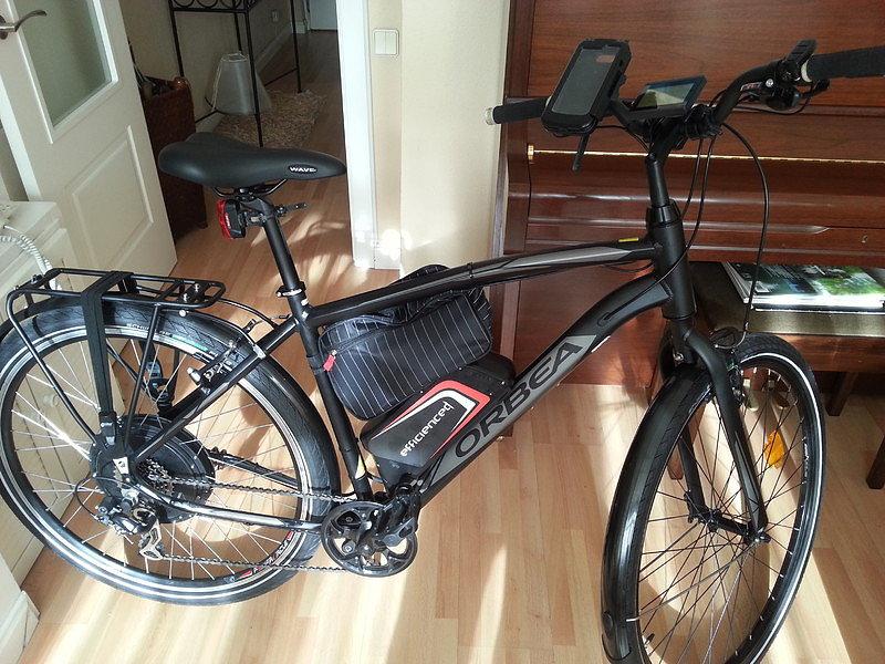 Vendo bicicleta eléctrica completa Bici_110