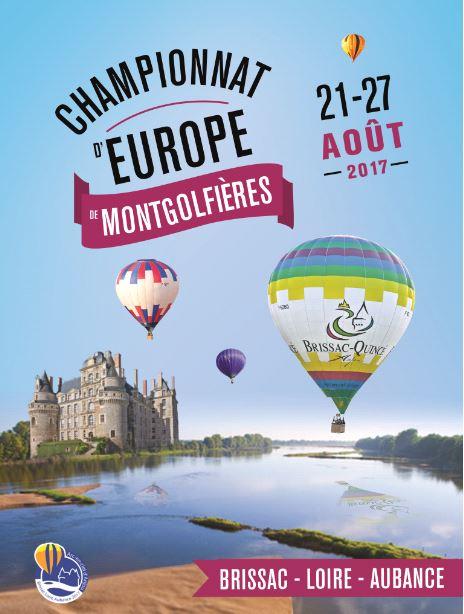Championnats d'Europe de Montgolfières Affich10
