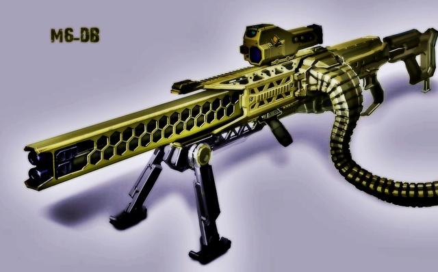 Géppuskák M6-db10