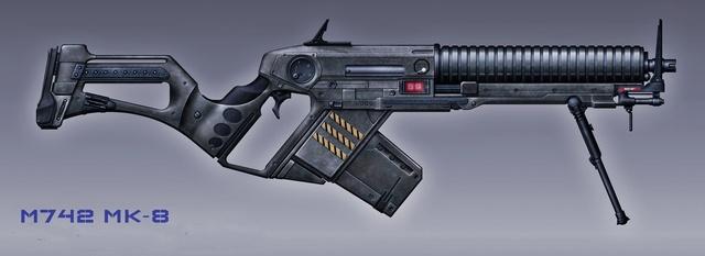 Géppuskák M742mk10