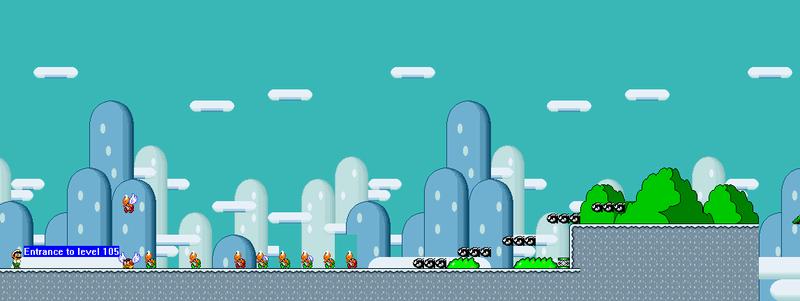 Nivel 1 De Super Mario World Rebirth (Terminado O No)  Nivel_11