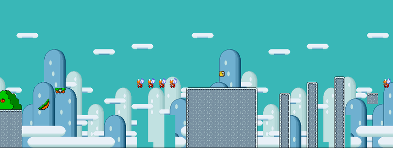 Nivel 1 De Super Mario World Rebirth (Terminado O No)  Nivel_12