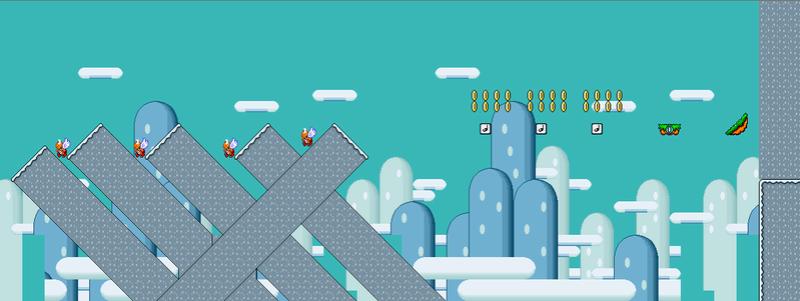 Nivel 1 De Super Mario World Rebirth (Terminado O No)  Nivel_16