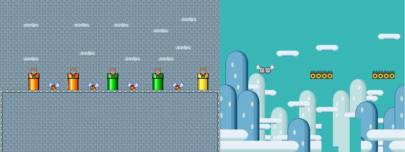 Nivel 1 De Super Mario World Rebirth (Terminado O No)  Nivel_19