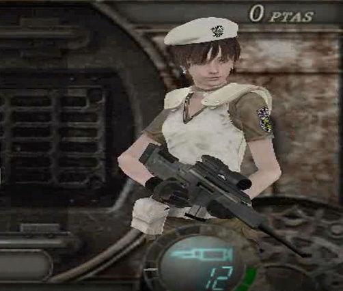 Rebecca S.T.A.R.S Prototype (RE0: Remaster) - para Main game y Mercenaries Screen12