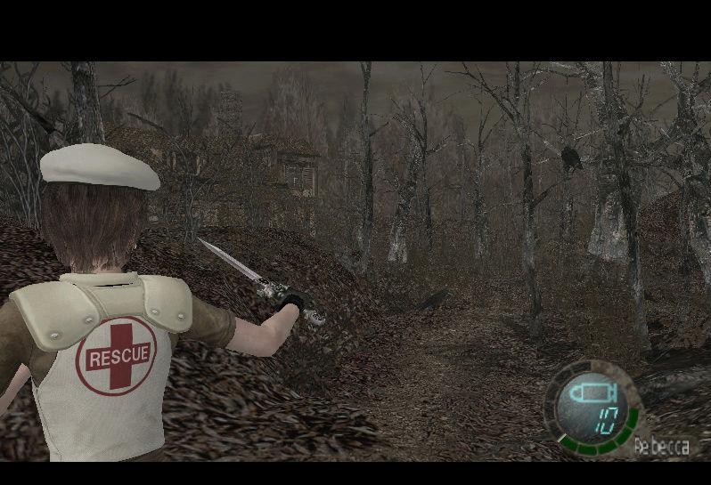 Rebecca S.T.A.R.S Prototype (RE0: Remaster) - para Main game y Mercenaries Screen13