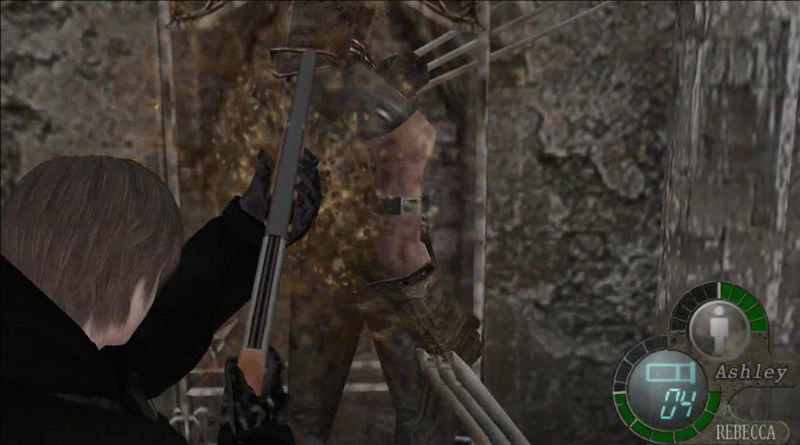 Rebecca Chambers as Lady Hunk IN MAIN GAME - Leon mafia (animations, hud and songs) Screen18