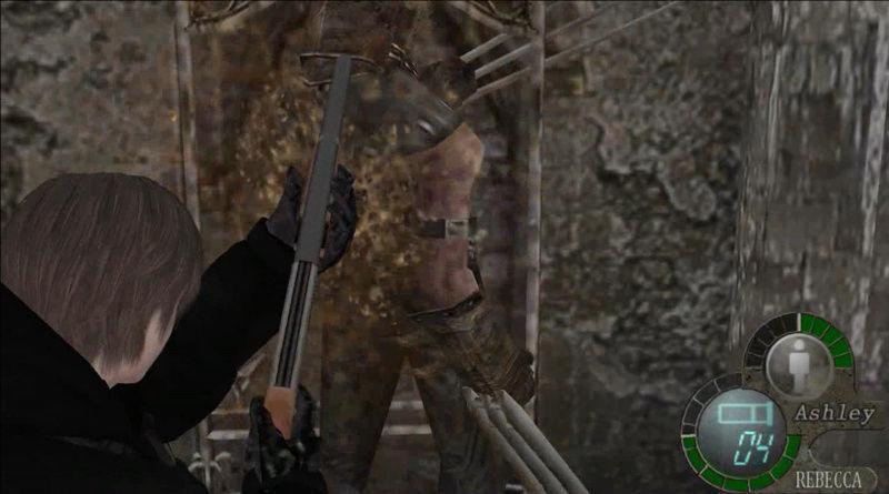 Rebecca Chambers as Lady Hunk IN MAIN GAME - Leon mafia (animations, hud and songs) Screen18