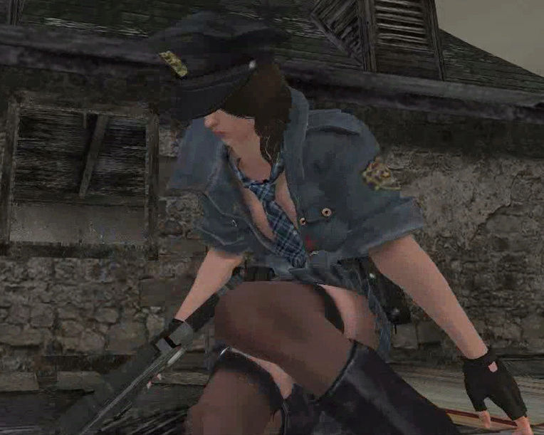 Re4 Helena Harper RPD Cop outfit - Ada mercenaries/Leon mafia Screen20