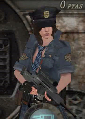 Re4 Helena Harper RPD Cop outfit - Ada mercenaries/Leon mafia Screen22