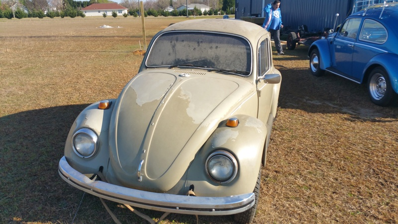 Our first bug 1969 20170312