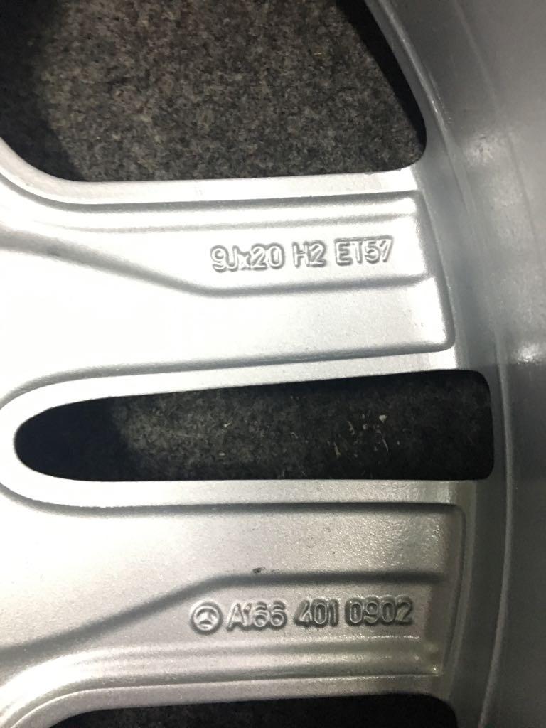 """(VENDO): Jogo de rodas originais W166 aro 20"""" - R$4.000,00 Rodaw113"""