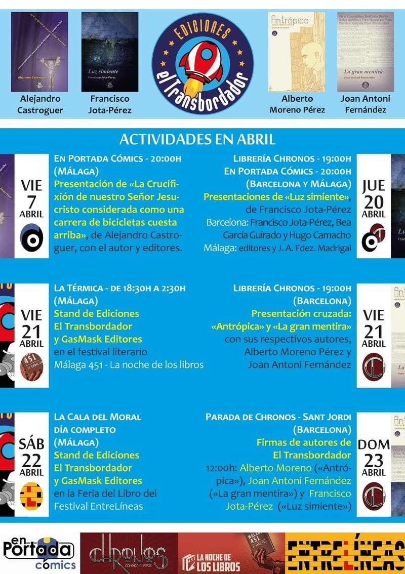 Presentación de LUZ SIMIENTE y firmas de Sant Jordi Abrilt10