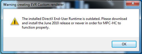 directx outdated Direct10