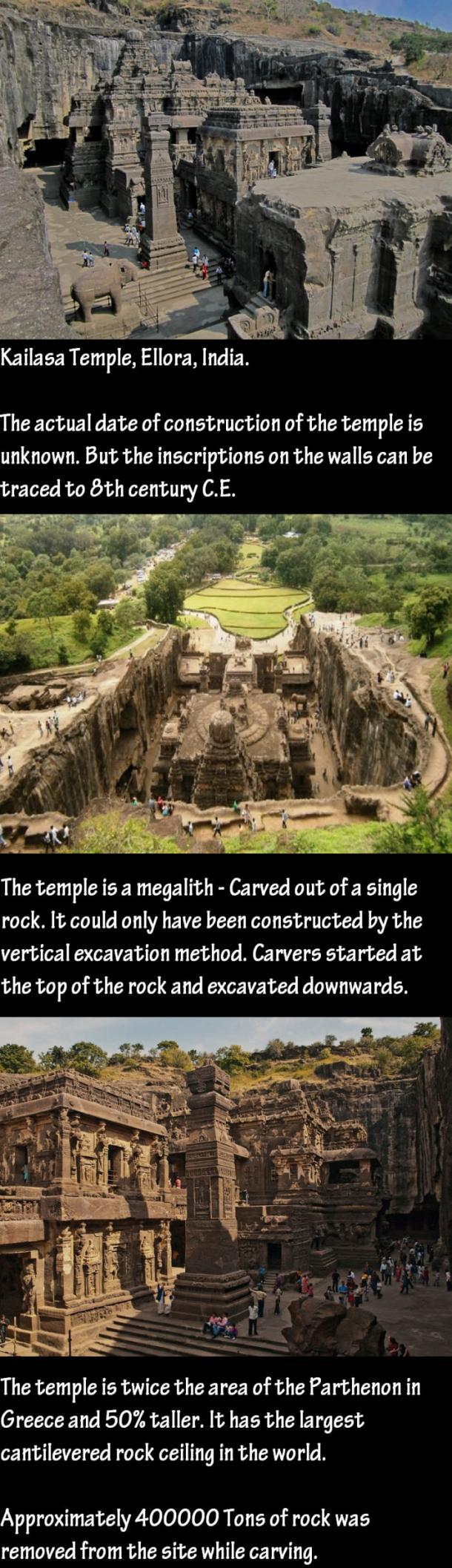 Kailasa hram - Indija Kailas10