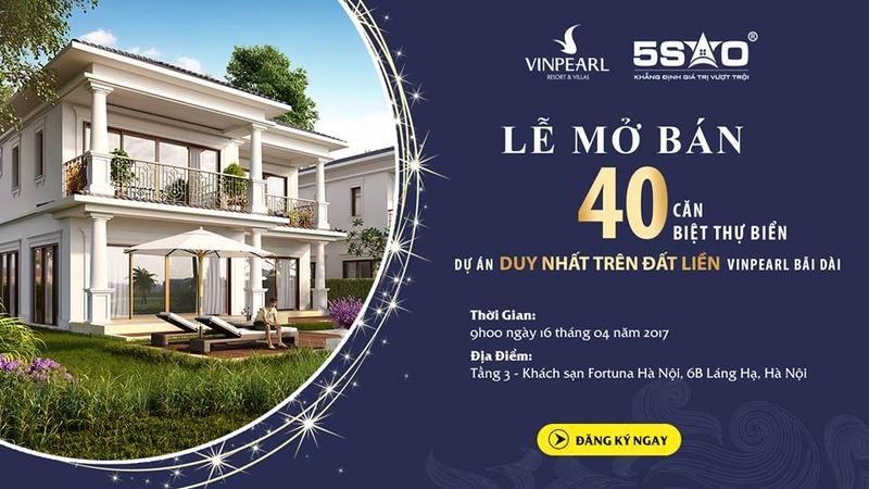 Sự kiện mở bán 40 căn biệt thự duy nhất trên Đất Liền để tri ân đến KH. Chỉ từ 4,9-5,4 tỷ - LH 0989 515 805 17626113