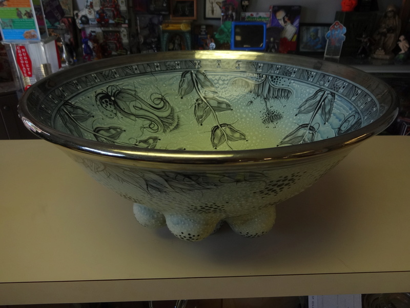 Gorgeous Oceanic themed Bowl no markings Help please! April_11