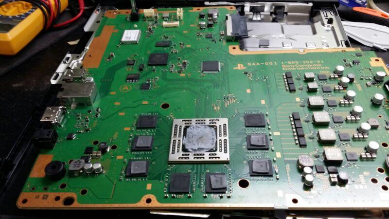 Material de estudo das placas PS4 Ic1u8010
