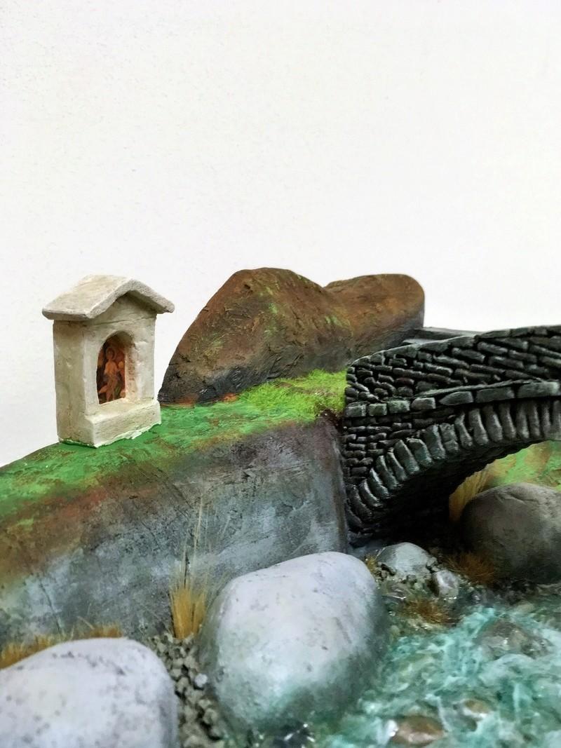Ponte in valle di Champorcher Aosta, sull'orrido di Rathus. (Dioramik) Img_3312