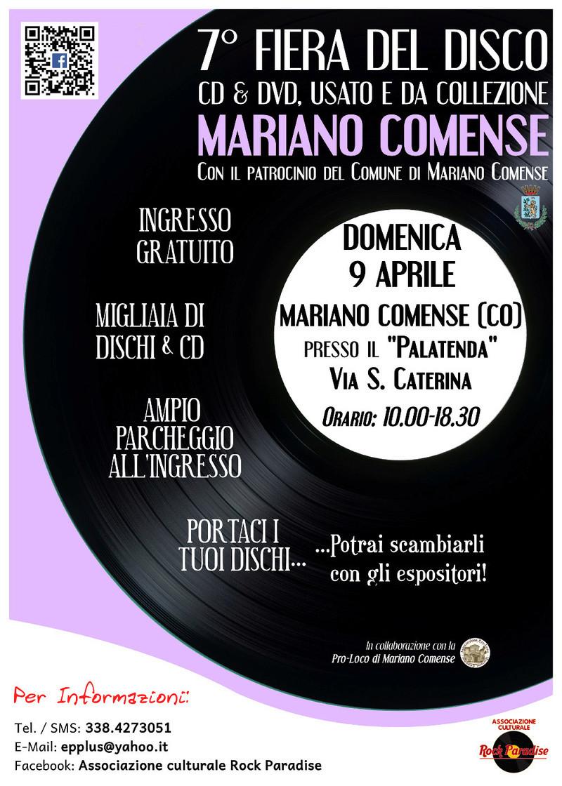 7^ FIERA DEL DISCO DI MARIANO COMENSE CO Volcom10