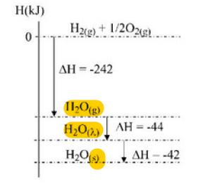 Termoquimica a a entalpia de formao de h2os 42 kj b o processo de formao de 1 mol de h2o libera 286 kj de energia c a quantidade de energia envolvida na ccuart Gallery