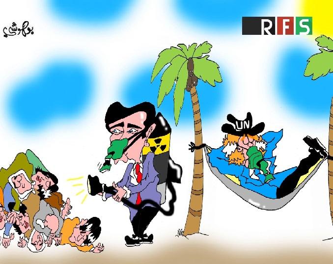 كاريكاتير الثورة السورية - صفحة 20 111