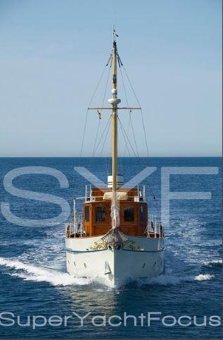 Projet construction : yacht de 1907 Ilona of Kylesku 110