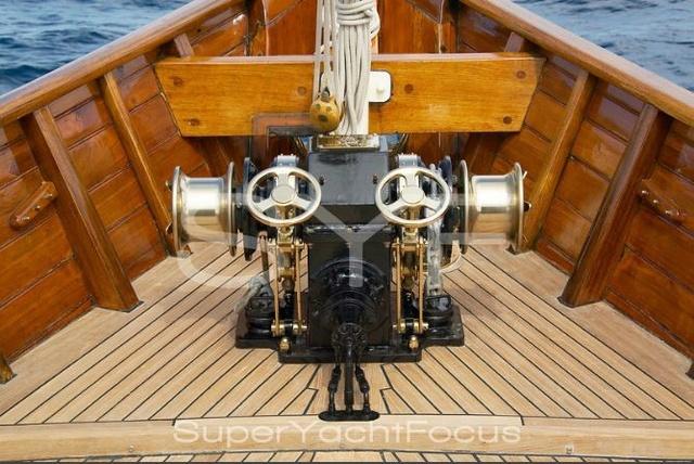 Projet construction : yacht de 1907 Ilona of Kylesku 310